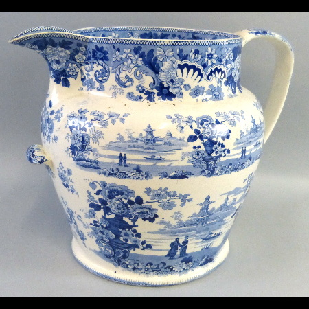 A 19th century large toilet jug